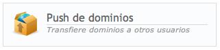 push de dominios