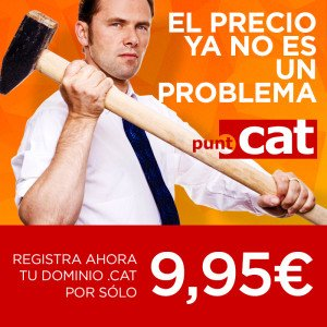 Dominios .CAT 9,95€